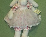 """19"""" Bunnies By The Bay CUPCAKE ORIGINAL Plush RARE NUMBER 517 Rabbit Doll Toy - $159.39"""