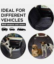 SUPSOO Dog Car Seat Cover Waterproof Durable Anti-Scratch Nonslip Back Seat Pet  image 5