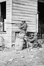 Dutch Gap, Virginia. Picket station of Colored troops near Dutch Gap canal - $19.97