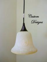 Matte Black Finish Ceiling Mini Pendant Light Cottage Log Lodge Cabin Fi... - $57.09