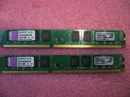 4GB Kit QTY 2x 2GB DDR3 1333Mhz non-ECC desktop memory Kingston KVR1333D3K2/4G&l - $40.00