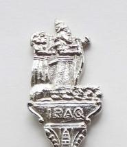 Collector Souvenir Spoon Iraq Babylonian Bow Hunter Embossed Emblem - $29.99