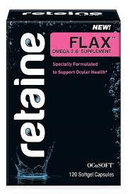 Retaine Flax Omega 3 Nutritional Supplements Omega-3 120 pills