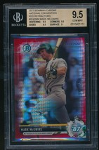 2017 Bowman Chrome National Convention Refractors RedMark McGwire BGS 9... - $135.00