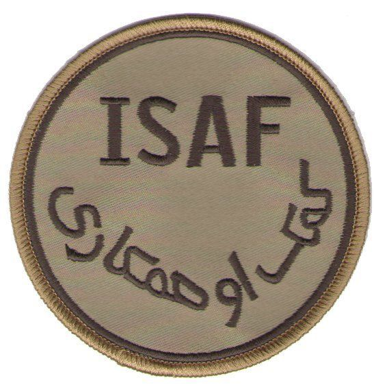 Primary image for ISAF DESERT ENDURING FREEDOM AFGHANISTAN PATCH