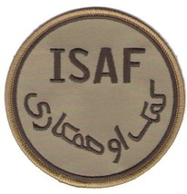ISAF DESERT ENDURING FREEDOM AFGHANISTAN PATCH - $15.33