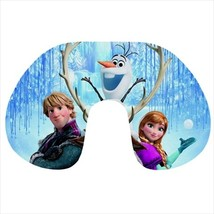 Travel neck pillow inflatable frozen olaf - $20.00