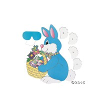 PIN the TAIL on the EASTER BUNNY/Spring PARTY GAME/Party ACTIVITY/New in... - $6.99