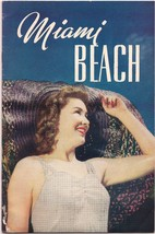 1941 Miami Beach FL Color Brochure w Mailing Envelope Sailfish Bathing B... - $34.64