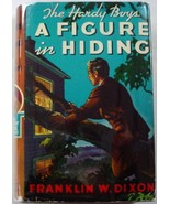 Hardy Boys A Figure in Hiding 1956A-28 no.16 hcdj Franklin W. Dixon - $15.00