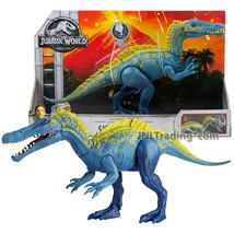 Year 2017 Jurassic World 13 Inch Long Dinosaur Figure  SUCHOMIMUS - $39.99