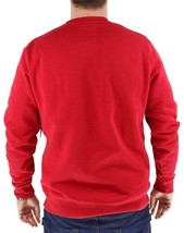 Levi's Men's Premium Classic Graphic Cotton Sweatshirt Red 3LVYM1111F image 2