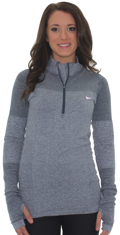 c82acda2 Nike Womens Dri-fit Half Zip Knit Top Shirt and 50 similar items. 546043 nike  women running jacket front