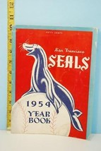 1954 San Francisco Seals Minor League Baseball Yearbook - $35.59