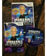 Jeopardy Nintendo Wii Game Complete With Manual Tested - $11.85