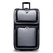 """New Yorker Silver 29"""" Expandable Rolling Luggage Wheeled Suitcase Travel... - $54.44"""