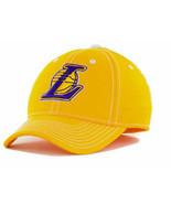 Los Angeles LA Lakers adidas M401Z NBA Basketball Team Stretch Fit Cap H... - $18.99