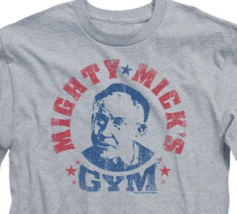 Rocky Classic Movie Mighty Mick's Gym retro long sleeve graphic t-shirt MGM113 image 3