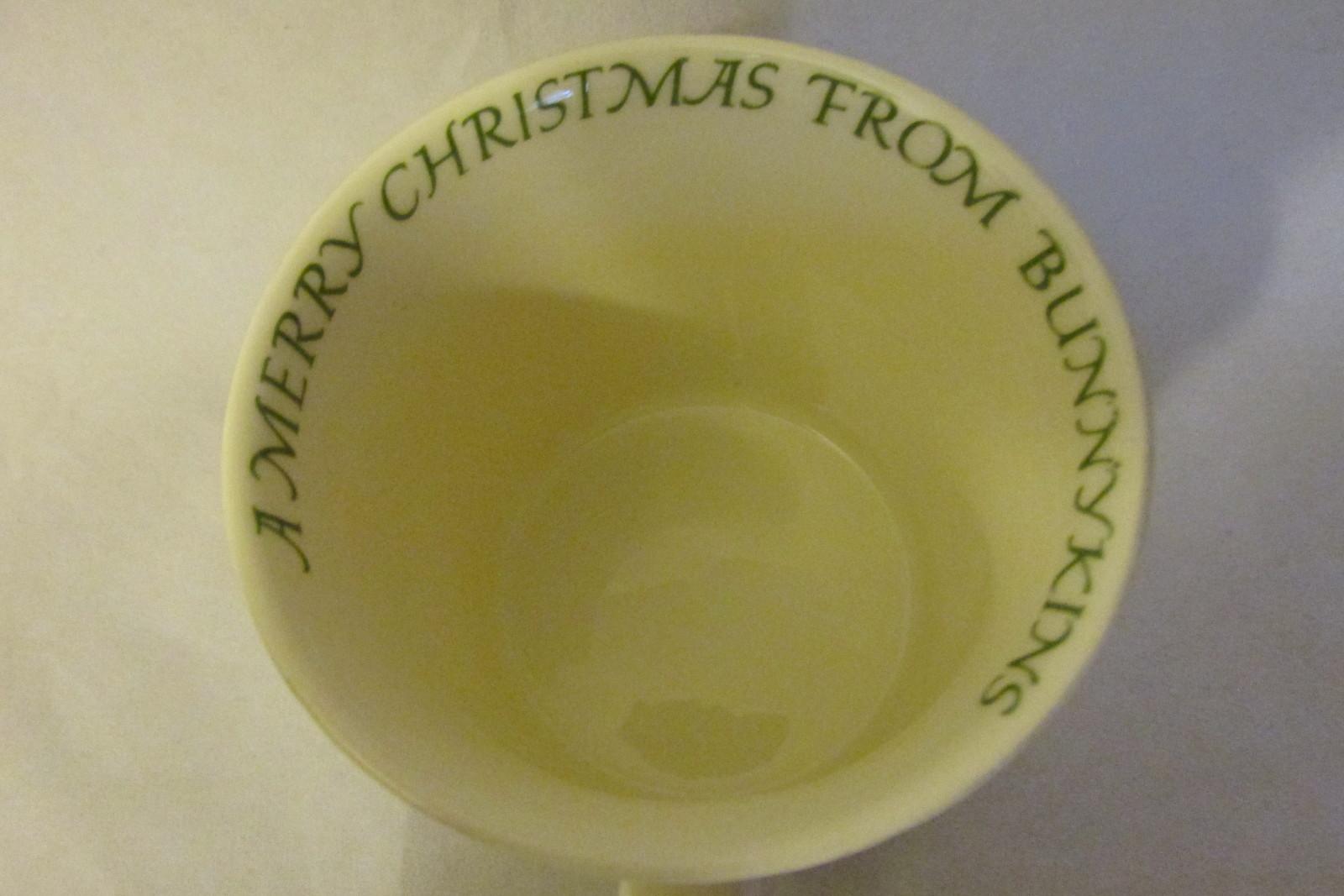"""Royal Doulton Bunnykins Christmas Mug - """"A Merry Christmas From Bunnykins"""""""