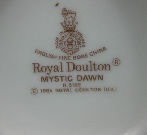 """Royal Doulton Mystic Dawn 6"""" Bud Vase Fine Bone China England image 5"""