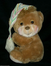 VINTAGE 1985 BROWN FISHER PRICE TEDDY BEDDY BEAR STUFFED ANIMAL PLUSH TO... - $22.21