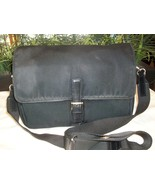 Coach Mercer Field Messenger Crossbody Travel Business Bag 7435 Black Vt... - $25.00