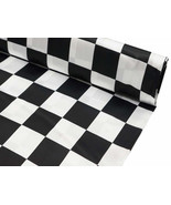 CHECKERED AISLE RUNNER - black And white check,  Racing,   Wedding, Brid... - $94.99