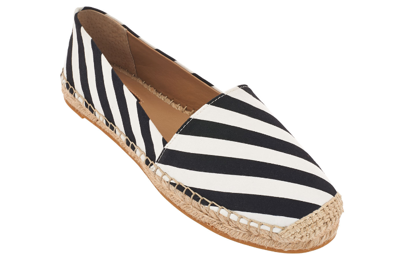 Primary image for $106.00 G.I.L.I. got it love it Canvas Espadrilles Sandie Canvas B & W, Size 6.5
