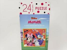 Disney Junior 24 Pc Jigsaw Puzzle - New - Minnie Mouse & Daisy Duck - $8.99