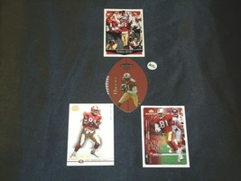 San Francisco 49er's Terrell Owens #81 WR Football Trading Cards AA-191804 Vinta