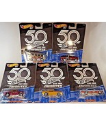 2018 Hot Wheels 50TH ANNIVERSARY FAVORITES 2nd Complete SET OF 5 See Des... - €46,89 EUR