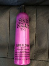 NEW, TIGI Bed Head Dumb Blonde Shampoo For Chemically Treated Hair, 400 ml - $16.99
