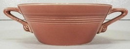 Homer Laughlin Harlequin Cream Soup Bowl, Rose - $18.99