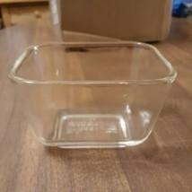 Vintage Pyrex Clear 501B 1½ cup Refrigerator Bowl Dish  NO Lid - $14.85