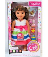 "NEW My Friend Parytime 18"" Brunette Active Fashion Cayla - $64.35"
