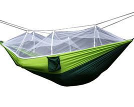 Portable Hammock Jungle Camping Mosquito Net Hammock Outdoor Hammock Bed - $17.08