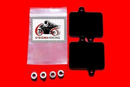 1988-90 Kawasaki Ninja ZX-10 Exhaust Reed Plate AIS Smog PAIR Block Off Kit - $27.58