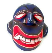 Sri Lankan Handmade Wood Wall Art Decor Elegant Tribal Sanni Mask Sculpt... - $13.10