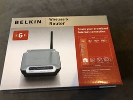 Belkin Wireless G Router F5D7230-4 Wireless router 4-port switch - 802.1... - $30.00