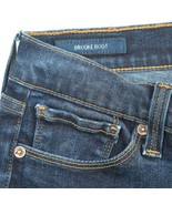 Lucky Brand Brooke Boot Cut Dark Wash Low Rise Stretch Jeans Womens 6 28x30 - $24.62