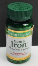 Natures Bounty / Gentle Iron Glycinate 28mg / 90 Capsules / EXP 01/2023 - $12.75