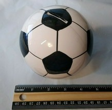 """Soccer Ball Coin Bank - Approx. 3 3/4"""" - NICE! Very Unique! FAST FREE SH... - $11.79"""