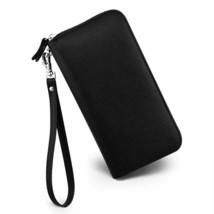 Womens Wallet RFID Blocking Genuine Leather Zip Around Wallet Clutch Wri... - $35.38+