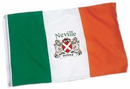 Irish Rose Gifts Neville Heavy Duty Outdoor Ireland Coat of Arms Flag - ... - $33.32