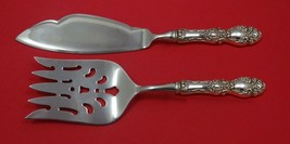 Lucerne by Wallace Sterling Silver Fish Serving Set 2 Piece Custom Made HHWS - $127.40