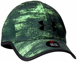 NEW! Under Armour Mens Printed Reflective Shadow 3.0 Cap Green/Black - $88.98