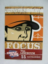 Tim Lincecum San Francisco Giants 2012 Panini Baseball Card 258 - $0.98