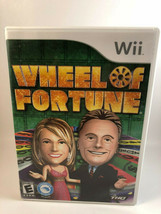 Wheel of Fortune (Nintendo Wii, 2010) Complete - $11.76