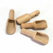 Wooden Kitchen Spoon Herb Powder Rice Spice Salt Sugar Flour Scoop Kitch... - $3.75+