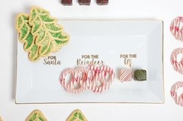 Snack Tray for Santa Reindeer and Elf